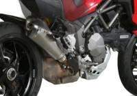 Mivv Exhaust - Mivv Delta Race Stainless Slip-on Exhaust Multistrada 1200-1260 '15-'19