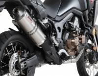 Mivv Exhaust - Mivv Oval Titanium Slip-on Exhaust: Honda Africa Twin