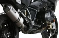 Mivv Exhaust - Mivv Speed Edge Stainless Slip-on Exhaust: BMW R1250GS