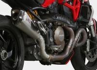 Exhaust - Mid Pipes - Mivv Exhaust - Mivv Delta Race Stainless Exhaust: Ducati Monster 1200/S '14-'16