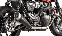 Exhaust - Slip-Ons - Akrapovic - Akrapovic Titanium Slip-On Line Exhaust: Triumph Speed Twin, Thruxton