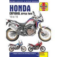 Tools, Stands, Supplies, & Fluids - Haynes Books - Haynes Motorcycle Repair Manual: Honda Africa Twin CRF1000