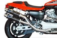 Termignoni - Termignoni Round Full Racing Exhaust: Harley Davidson XR1200/R