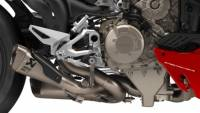 Exhaust - Slip-Ons - Akrapovic - Akrapovic Titanium Racing Slip-On Exhaust: Ducati Streetfighter V4/S