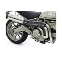 Motocorse - Motocorse Evoluzione Titanium Full Exhaust: Ducati Scrambler 803