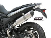 Parts - Exhaust - SC Project - SC Project Oval Exhaust: BMW F800GS '09-'15, F650GS '08-'12
