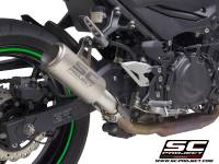 SC Project - SC Project CR-T Exhaust: Kawasaki Ninja 400, Z400