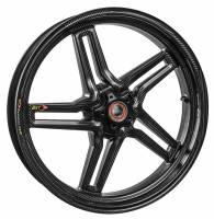 """BST Wheels - BST RAPID TEK 5 SPLIT SPOKE WHEEL SET [6"""" REAR]: MV Agusta F4 1000, Brutale 1078 '10+ - Image 2"""