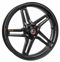 "BST Wheels - BST RAPID TEK 5 SPLIT SPOKE WHEEL SET [5.5"" REAR]: DUCATI 848/SF, MONSTER 796-1100, HYPERMOTARD, MONSTER S4RS, S4R - Image 2"