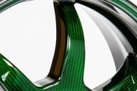 "BST Wheels - BST Rapid Tek Carbon Fiber 5 Split Spoke Wheel Set [6.0"" Rear]: BMW S1000RR '20+ - Image 11"