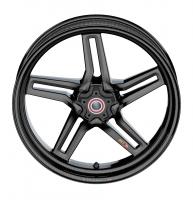 "BST Wheels - BST Rapid Tek Carbon Fiber 5 Split Spoke Wheel Set [6.0"" Rear]: BMW S1000RR '20+ - Image 7"