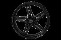 "BST Wheels - BST Rapid Tek Carbon Fiber 5 Split Spoke Wheel Set [6.0"" Rear]: BMW S1000RR '20+ - Image 5"