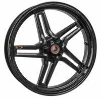 "BST Wheels - BST Rapid Tek Carbon Fiber 5 Split Spoke Wheel Set [6.0"" Rear]: BMW S1000RR '20+ - Image 2"