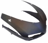 Body - Carbon Fiber - CDT - Shift Tech/CDT  Pre Preg CF Nose Fairing: 1098 / 1198 / 848: Matte Finish, New/Imperfect [Clearance item / No return] Easy Fix!