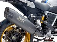 SC Project - SC Project Adventure Titanium Matte Grey Exhaust: BMW R1250GS/Adventure
