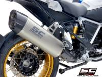 SC Project - SC Project Adventure Titanium Exhaust: BMW R1250GS/Adventure