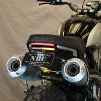 Body - Plate Relocator - New Rage Cycles - New Rage Cycles Fender Eliminator Kit: Ducati Scrambler 1100