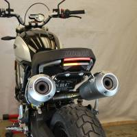 Body - Plate Relocator - New Rage Cycles - New Rage Cycles Tucked Fender Eliminator Kit: Ducati Scrambler 1100
