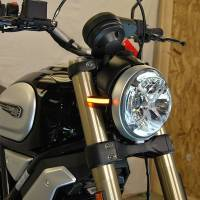 Electrical, Lighting & Gauges - Turn Signals - New Rage Cycles - New Rage Cycles Front LED Turn Signals: Ducati Scrambler 1100