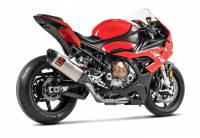 Exhaust - Full Systems - Akrapovic - Akrapovic Racing Titanium/Carbon Exhaust System: BMW S1000RR '20