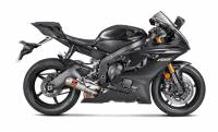 Exhaust - Slip-Ons - Akrapovic - Akrapovic GP Slip-On Exhaust: Yamaha R6 '06-'20