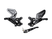 Bonamici Racing - Bonamici Adjustable Billet Rearsets: Suzuki GSX-R 1000/R  '17-'20
