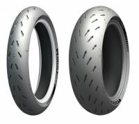Wheels & Tires - Tires - Michelin Tires - Michelin Power GP Tire Set: Ducati Multistrada 1200-1260, Monster 1200, Supersport 939