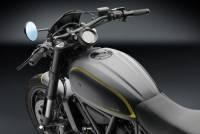"RIZOMA - RIZOMA ""CAFE RACER"" Gas Cap: Ducati Scrambler - Black - Image 2"