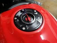 TWM - TWM Quick Action Aluminum Fuel Cap: Ducati Panigale, Streetfighter V4-1098, Diavel-X-1260, Monster 696-796-1100, Scrambler - Image 7
