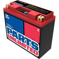 Electrical, Lighting & Gauges - Batteries and Spare Parts - Parts Unlimited  - Parts Unlimited Li-Ion Battery HJT12B-FP: Most Ducati
