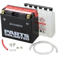 Parts Unlimited  - Parts Unlimited AGM Maintenance Free Battery: Most Ducati