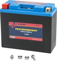 Electrical, Lighting & Gauges - Batteries and Spare Parts - WPS - WPS Featherweight Lithium Battery [Replacement for YT12B-BS]