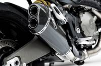 Zard - ZARD Carbon Fiber Racing Slip-On Exhaust System: Ducati Monster 821 [14-17]