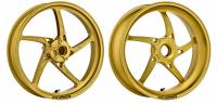 OZ Motorbike - OZ Motorbike Piega Forged Aluminum Wheel Set: Triumph Speed Triple '05-'07
