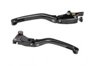 Hand & Foot Controls - Hand Controls - Bonamici Racing - BONAMICI RACING ALLOY FOLDING LEVER SET - BLACK  KTM Duke 790 [18+]