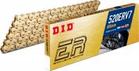 D.I.D - D.I.D ERV7 X-Ring Gold Chain 520 Pitch [120 Links]
