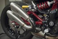HP Corse - HP Corse Satin Slip-on Exhaust: Indian FTR 1200/S