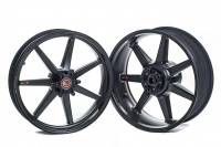 "BST Wheels - 7 Spoke Wheels - BST Wheels - BST Black Mamba 7 Spoke Wheel Set [6.0"" Rear]: BMW S1000RR  ""2020+"""