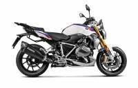 Exhaust - Slip-Ons - Akrapovic - Akrapovic Slip-On Exhaust Titanium Black: BMW R1250RS