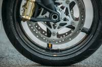 "BST Wheels - BST Diamond TEK 5 Spoke Wheels: Suzuki B King  [6.0"" Rear] - Image 6"