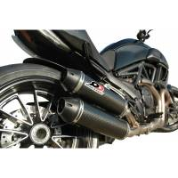 QD Exhaust - QD Exhaust 2>1>2 Slip-On: Ducati Diavel '11-'18