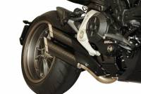 QD Exhaust - QD Exhaust Twin Monkey 2>2 Slip-On: Ducati XDiavel '16-'20