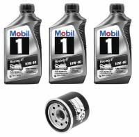 Mobil 1 - Mobil 1 10W-40 Oil Change Kit: BMW F850GS, F750GS