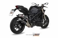 Mivv Exhaust - MIVV GP Carbon Slip-On Exhaust: Ducati Streetfighter 848-1098