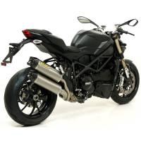 Mivv Exhaust - Arrow Race-Tech Slip-On Exhaust: Ducati Streetfighter 848-1098 - Image 2