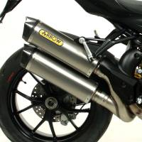 Mivv Exhaust - Arrow Race-Tech Slip-On Exhaust: Ducati Streetfighter 848-1098
