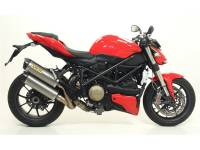 Mivv Exhaust - Arrow Race-Tech Slip-On Exhaust: Ducati Streetfighter 848-1098 - Image 3