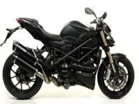 Mivv Exhaust - Arrow Race-Tech Slip-On Exhaust: Ducati Streetfighter 848-1098 - Image 5