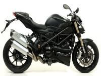 Mivv Exhaust - Arrow Race-Tech Slip-On Exhaust: Ducati Streetfighter 848-1098 - Image 6