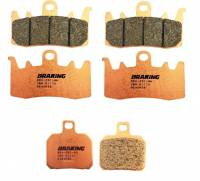 Braking - Braking Front/Rear Sintered Brake Pad Set: Ducati Monster 1200, Panigale 1199-1299-V4